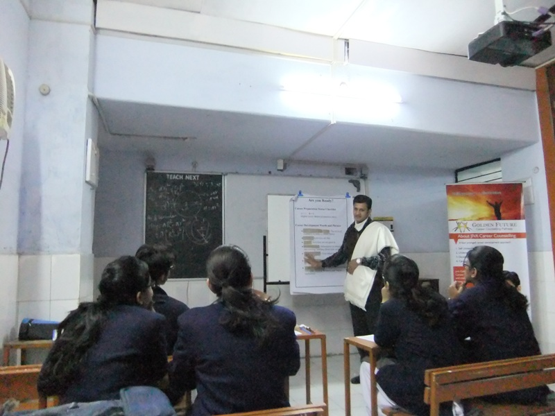 Group Career Counselling - City Montessori School, Lucknow