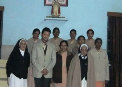 Soft Skills Training Group Photograph with the Principal, Management & Sisters of Mt. Carmel College, Lucknow